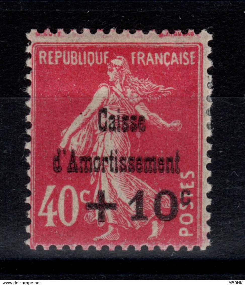 YV 266 N* Caisse Amortissement Cote 25 Euros - France