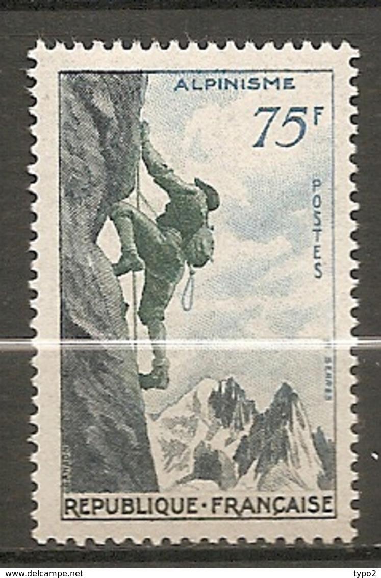 Yv. N° 1075  ** MNH   75f  Sports, Alpinisme   Cote 14,5 Euro TBE - Frankreich