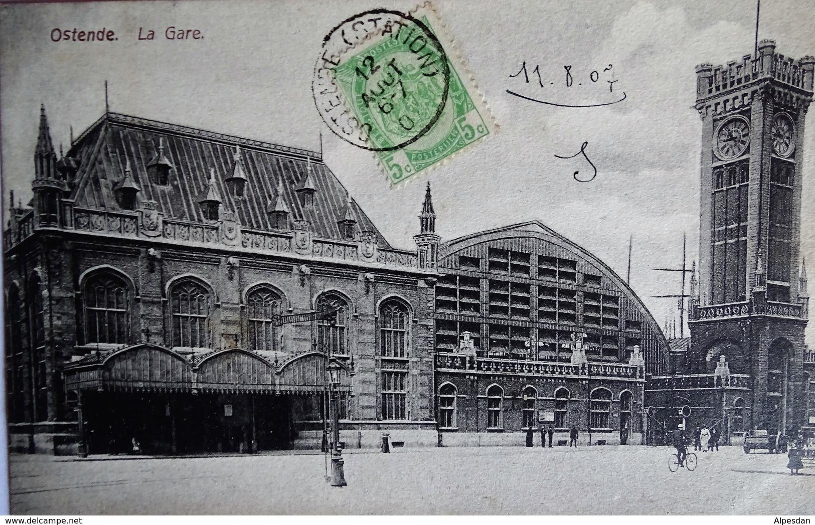 OSTENDE. La Gare - Oostende