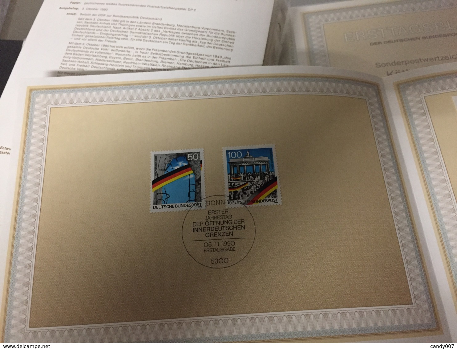 Collection De 686 FDC Allemagne ,Berlin De 1977 à 1992 Sous Pochettes Plastique Super état - Allemagne