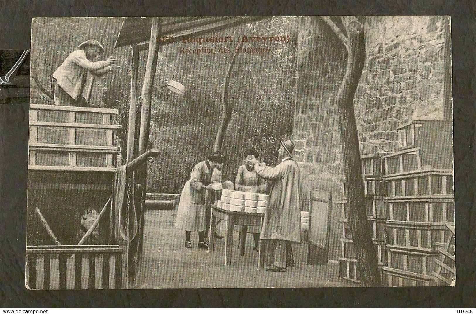 CP-ROQUEFORT - Réception Des Fromages - Roquefort