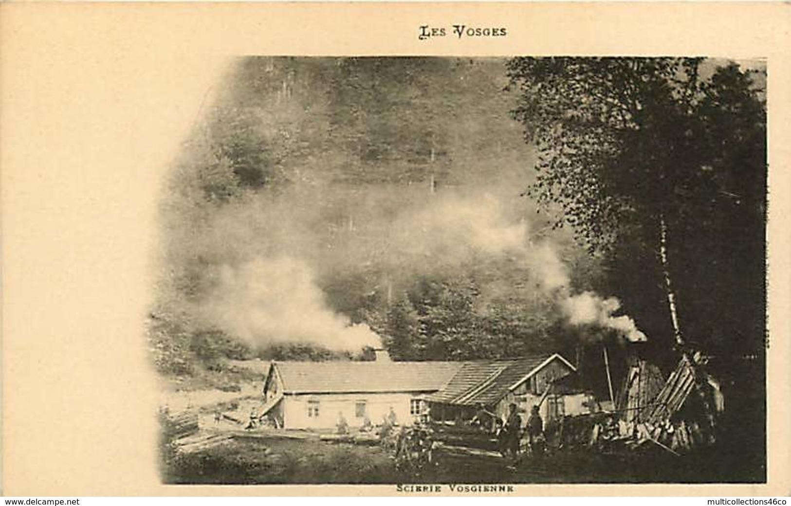 071218 - PUBLICITE ALCOOL CHAMPAGNE MERCIER EPERNAY - 88 Les Vosges - Scierie Vosgienne - - Champagne & Mousseux