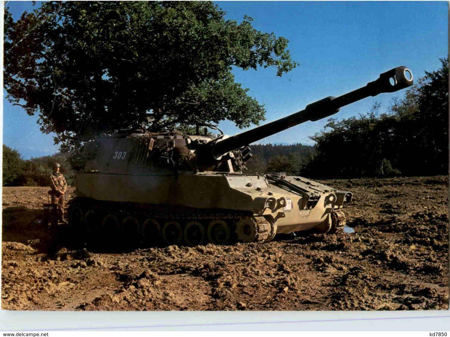 Tank Panzer - Ausrüstung