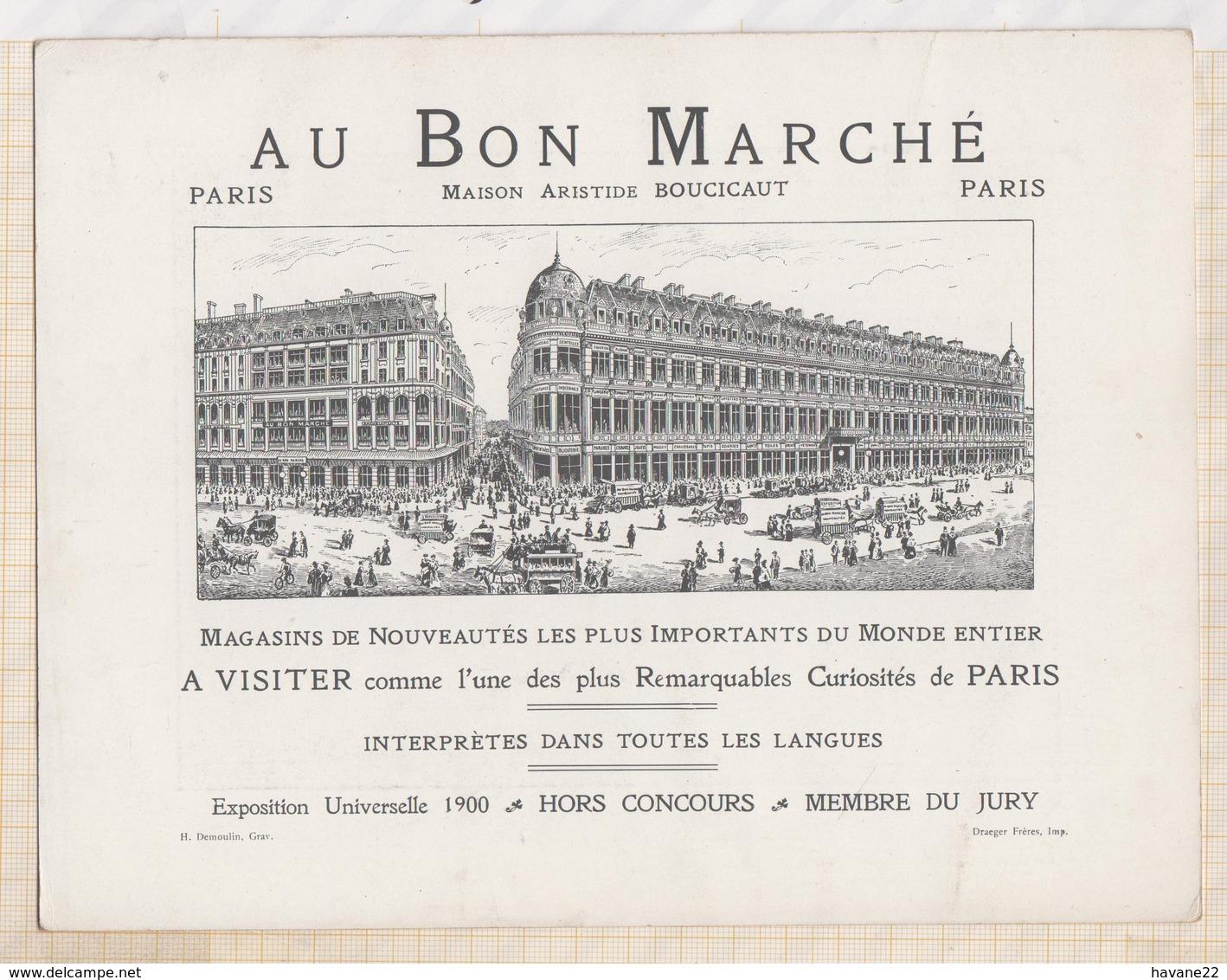 810209 GM CHROMO AU BON MARCHE L'ENFANCE LANCRET - Au Bon Marché