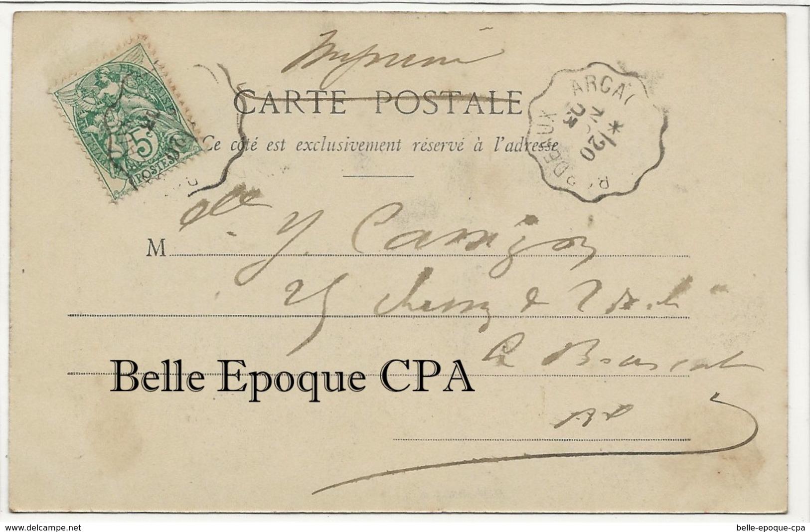 33 - ARCACHON - Parqueuse D'Huîtres +++ Henry Guillier, Libourne, #1579 ++++ 1903 - Arcachon