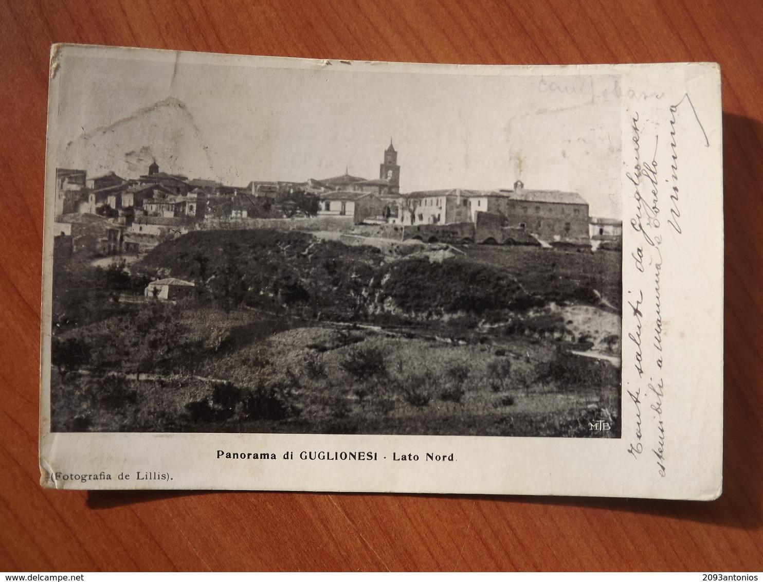 L354 CARTOLINA GUGLIONESI CAMPOBASSO    VIAGGIATA - Campobasso