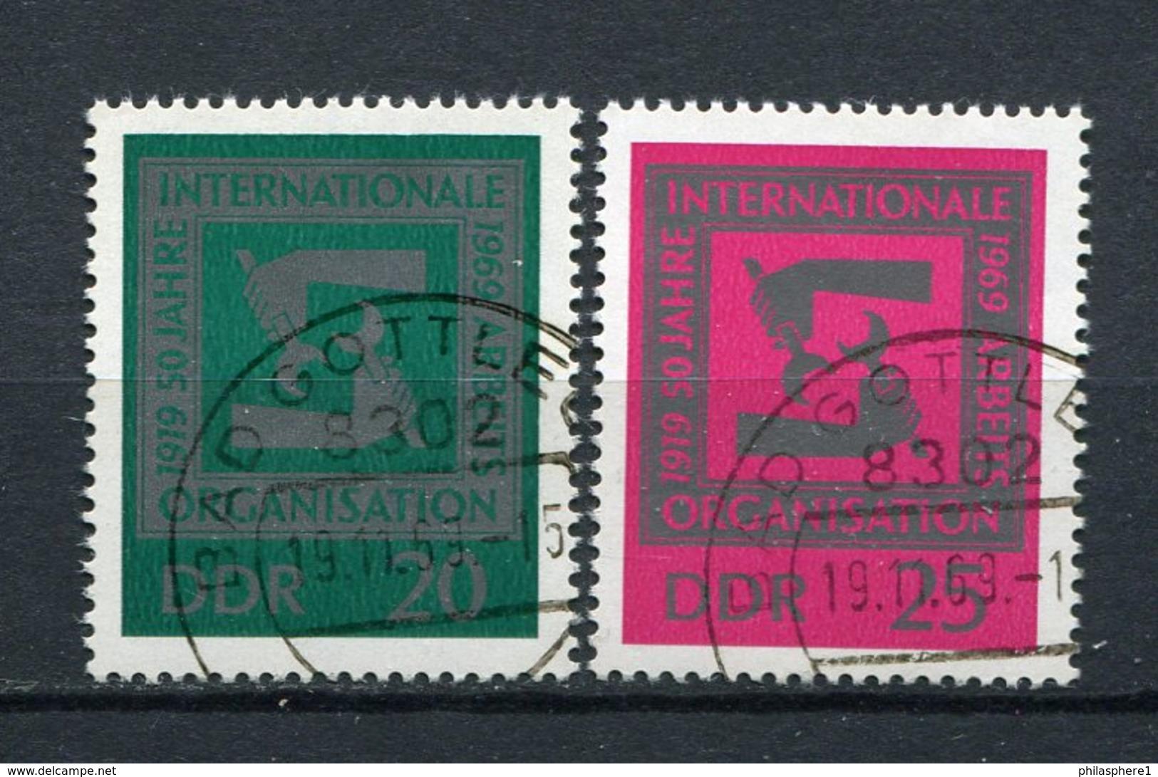 DDR Nr.1517/8         O  Used       (21437) ( Jahr: 1969 ) - DDR