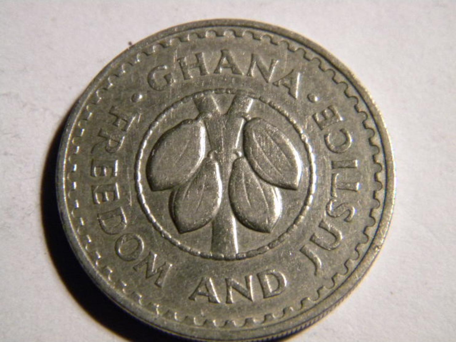 GHANA - 20 PESEWAS 1967. - Ghana