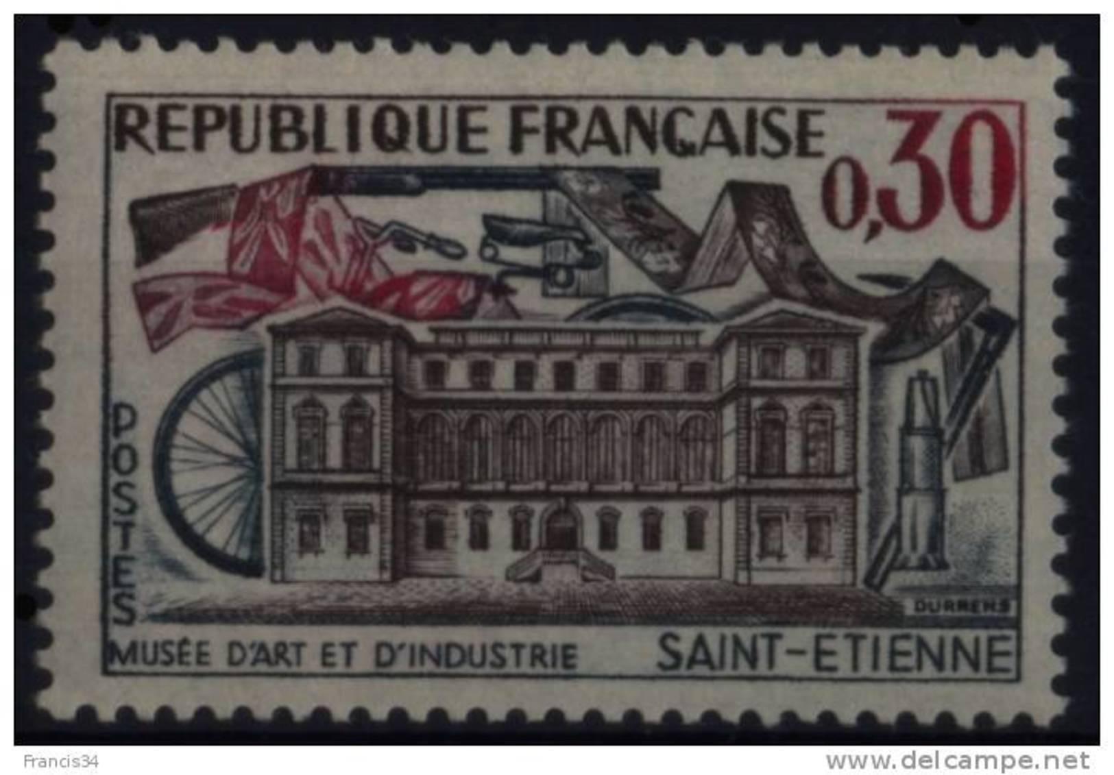 N° 1243 - X X - ( F 456 ) - ( Musée D'Art Et D'Industrie De St Etienne ) - Frankreich