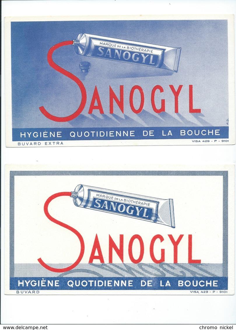 BUVARD X 2  SANOGYL Dentifrice Bien - Produits Pharmaceutiques