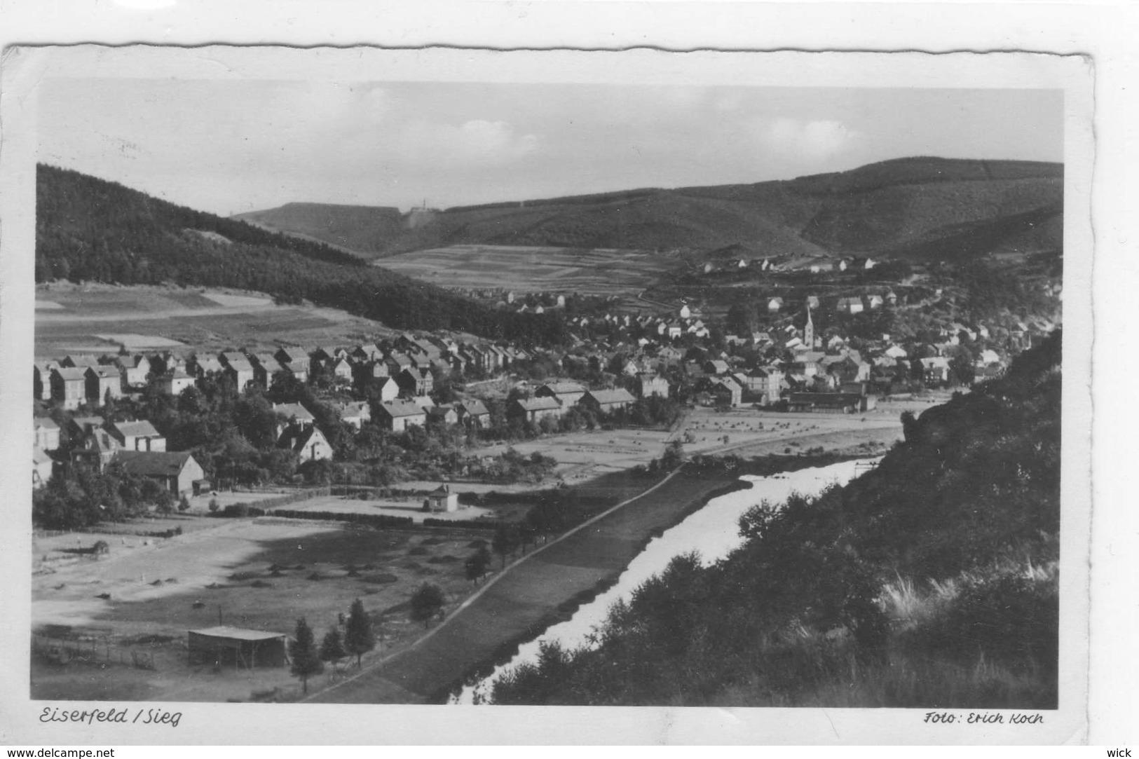 AK Eiserfeld / Sieg Bei Kreuzthal, Wilnsdorf, Siegen, Wittgenstein - Seltene Foto-AK !!! - Euskirchen