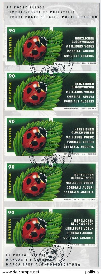 1060 / 1801 Mariakäfer Mit Ersttag Sonderstempel Gemäss Scans - Used Stamps