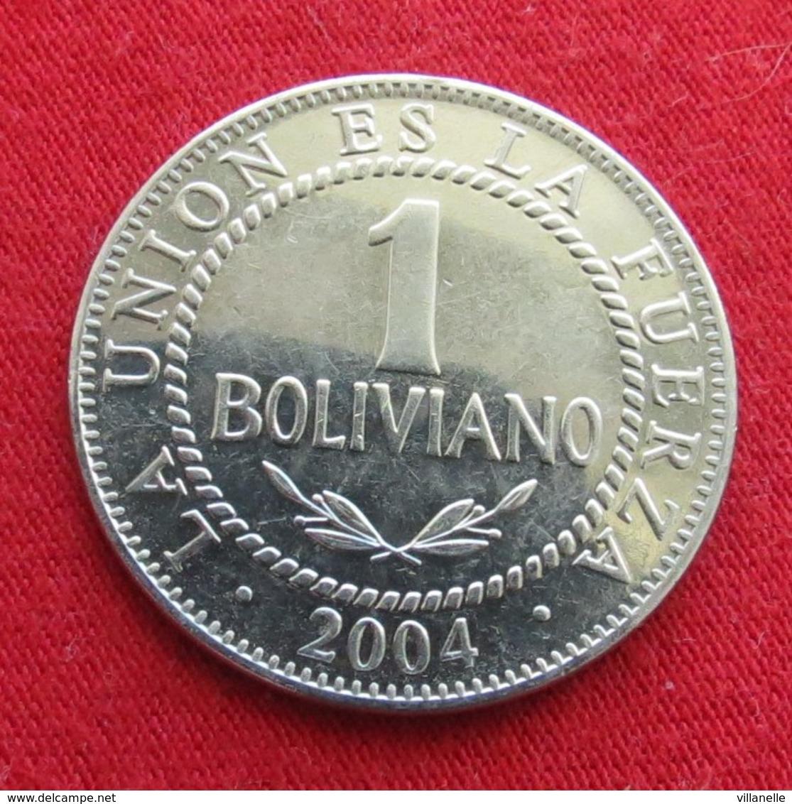 Bolivia 1 Boliviano 2004 KM# 205 Bolivie - Bolivia