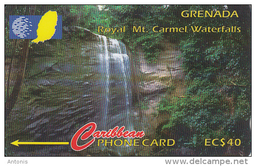 GRENADA(GPT) -  Royal Mt Carmel, CN : 13CGRA, Tirage 14100, Used - Grenada