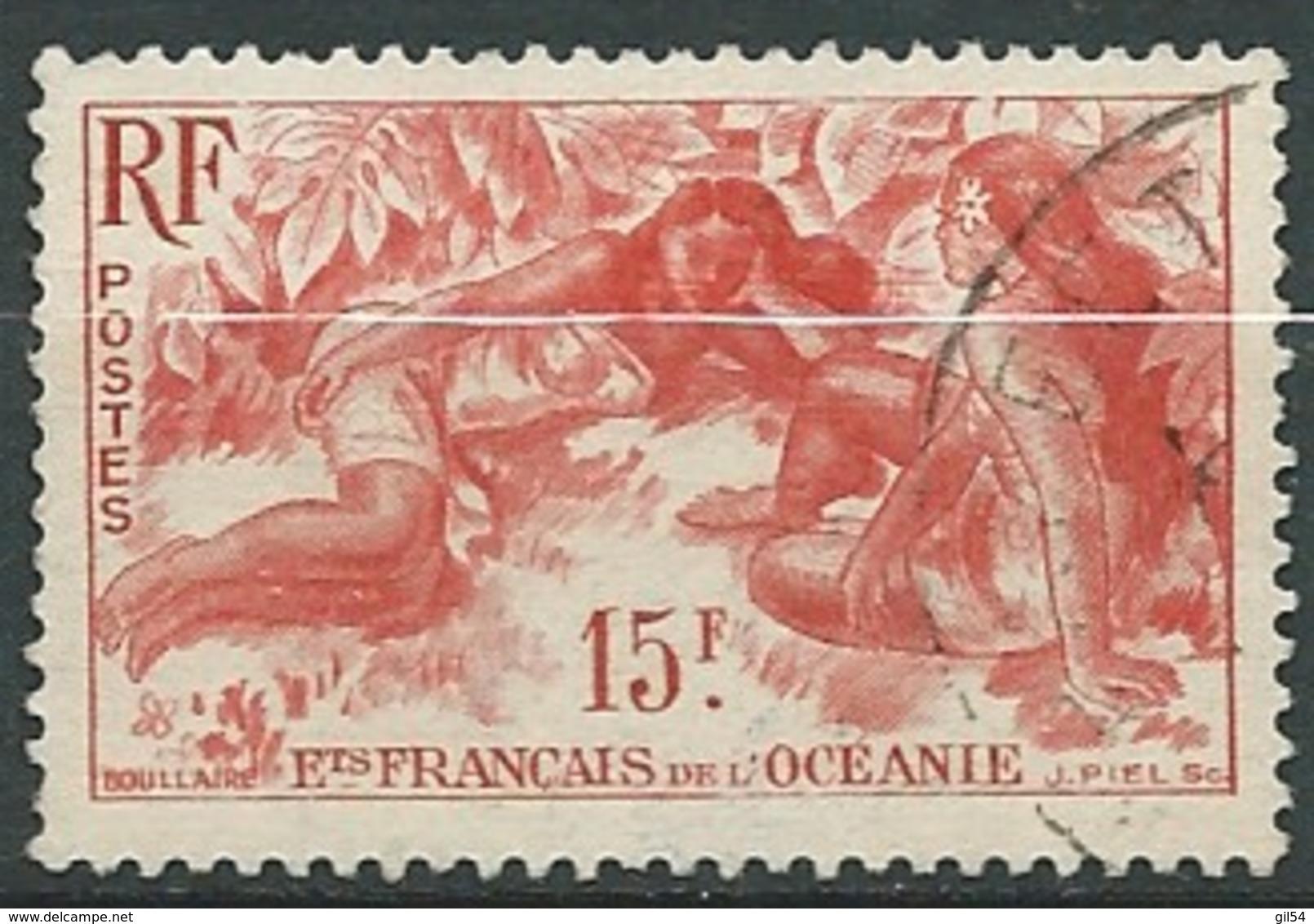 Oc Eanie - Yvert N° 198 Oblitéré     - Ai 27418 - Océanie (Établissement De L') (1892-1958)