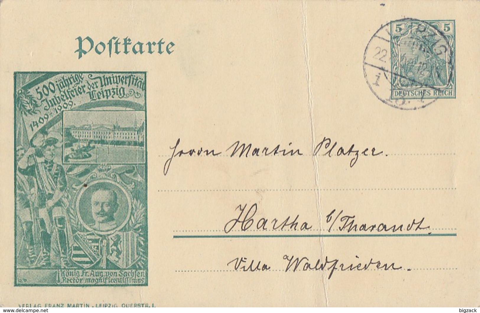 DR Privat-GS Minr.PP27 C108/04 Leipzig 22.8.09 - Deutschland