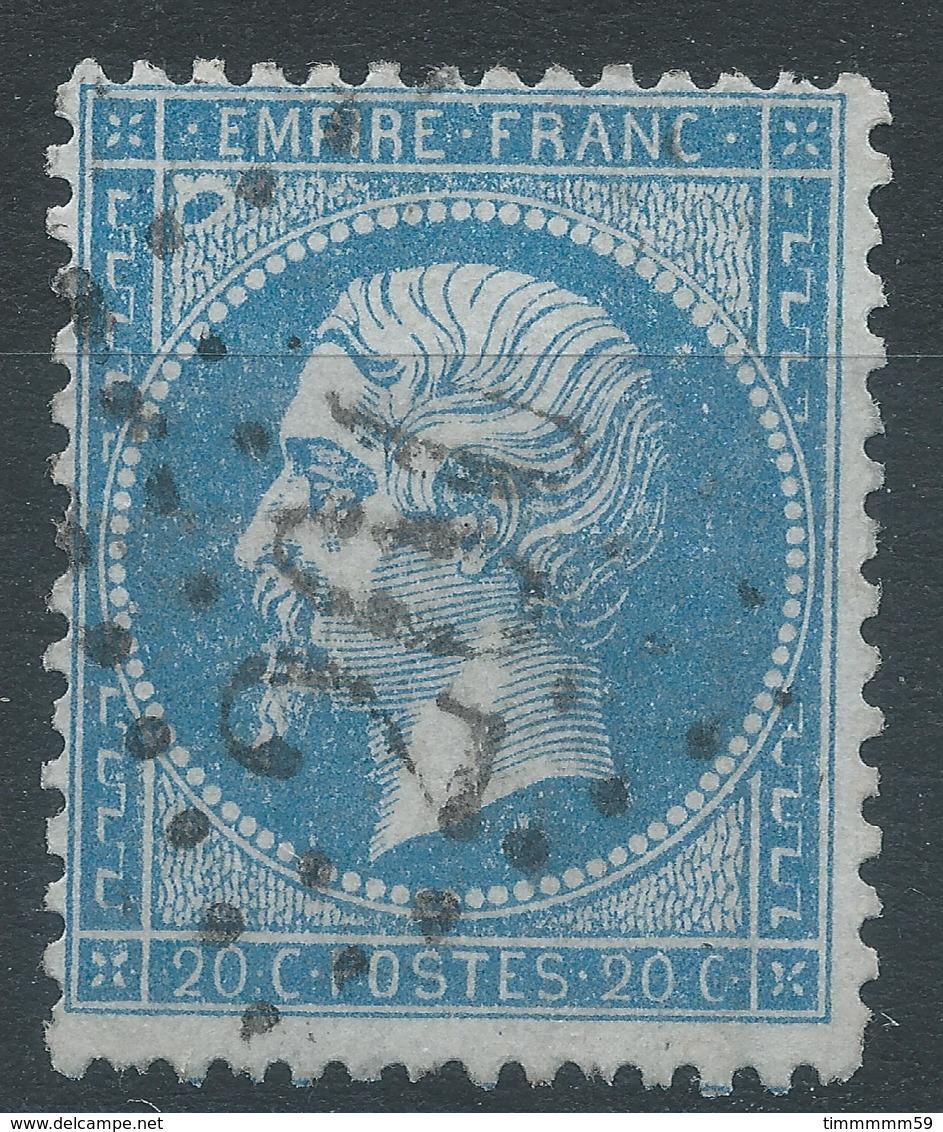 Lot N°45530  Variété/n°22, Oblit GC 260 Avignon, Vaucluse (86), énorme Anneau De Lune Embriquement NORD OUEST - 1862 Napoleone III