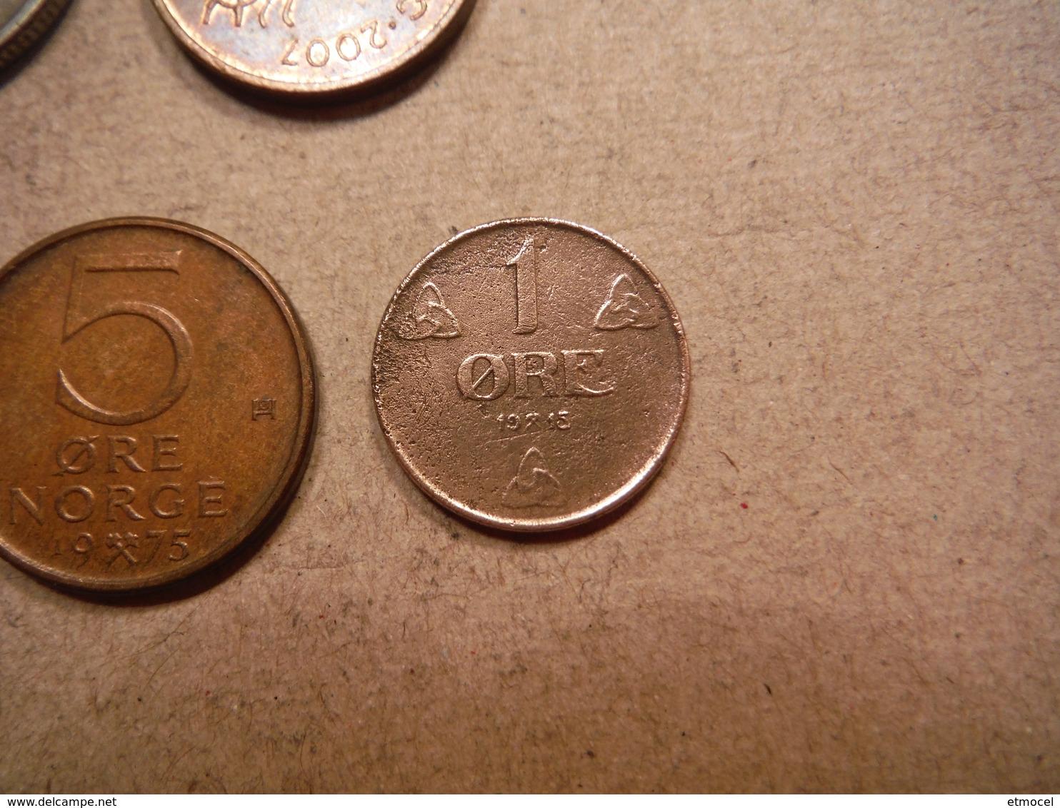 P8     Krone Et Ore - 1915 à 2007 - Norvège