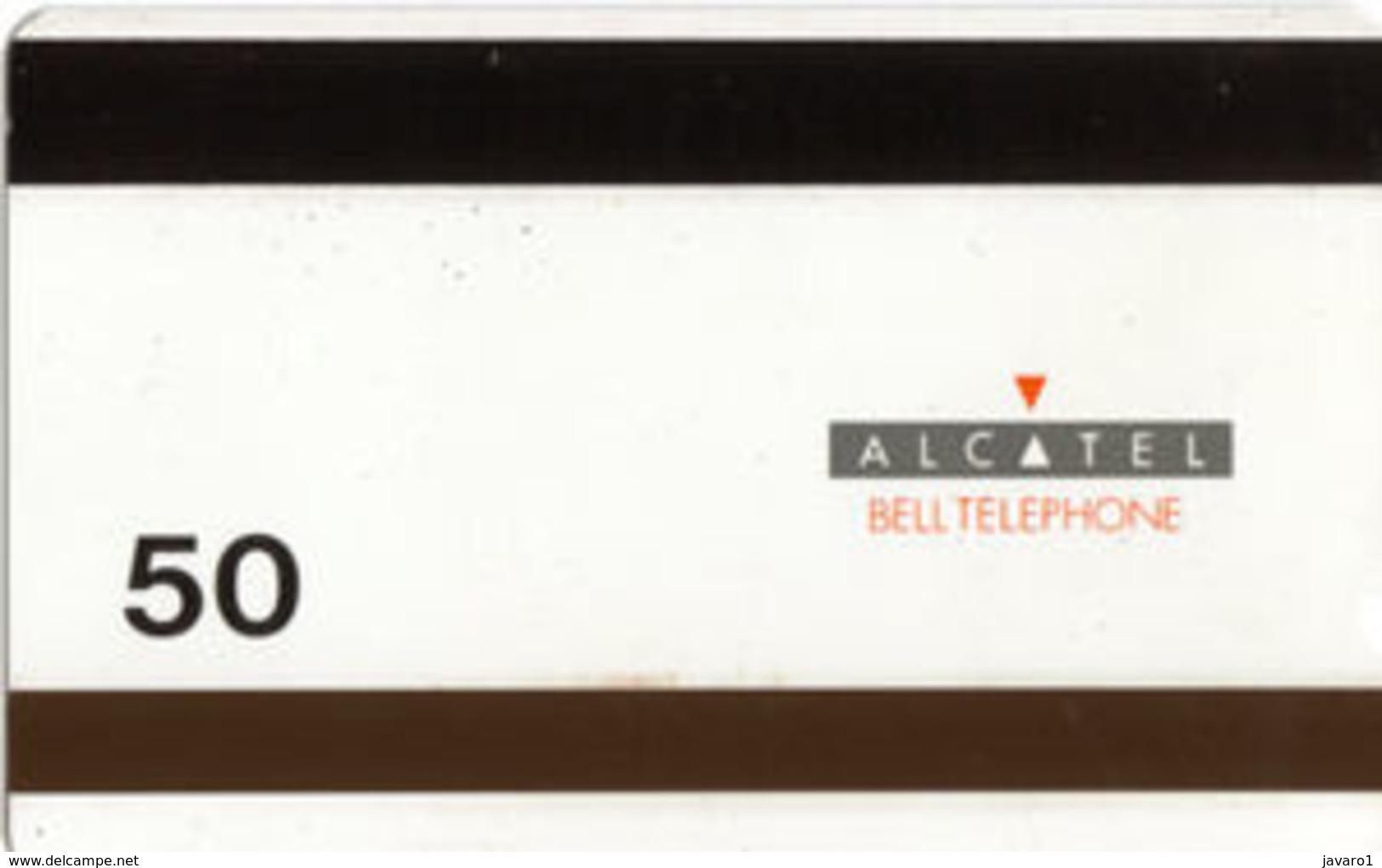 ALCATEL : AB10C 50u Antwerp By Night USED - Belgique