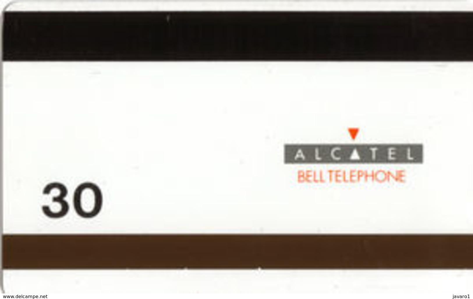 ALCATEL : AB13B 30u BRUGES + 2 Horses USED - Belgique