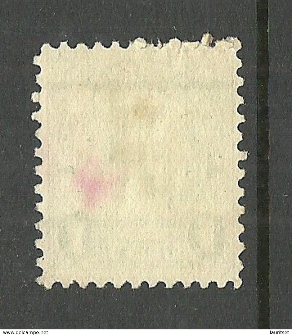 USA Franklin LIGHT GREEN 1 C. Pre-canceled Stamp New York, NY - United States