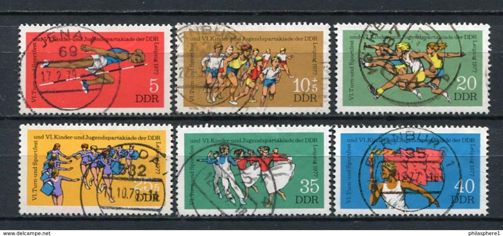 DDR Nr.2241/6           O  Used       (21698) ( Jahr: 1977 ) - Gebraucht