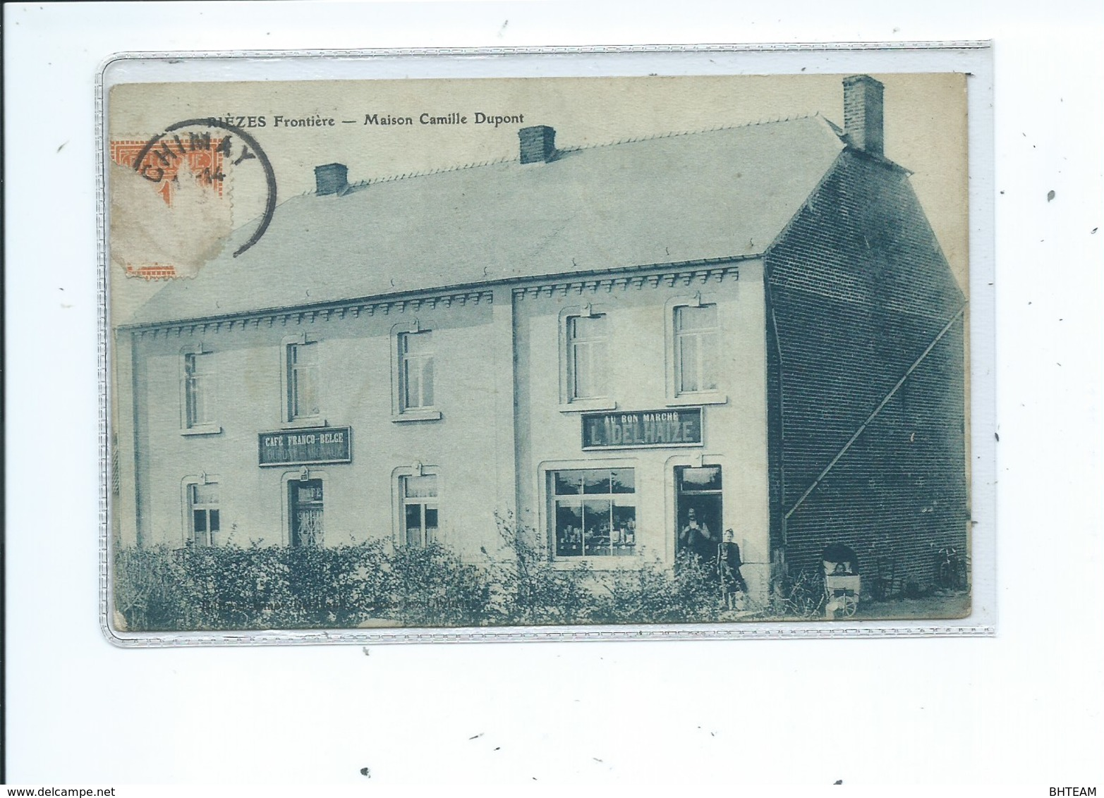 Rièzes Maison Camille Dupont Frontière ( Chimay ) - Chimay