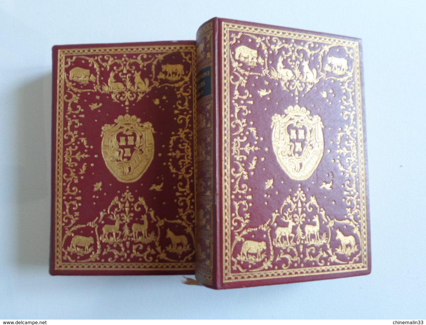 FABLES DE LAFONTAINE TOME 1 ET 2 EDITION JEAN DE BONNOT 1969 TRÈS BON ETAT - Poetry