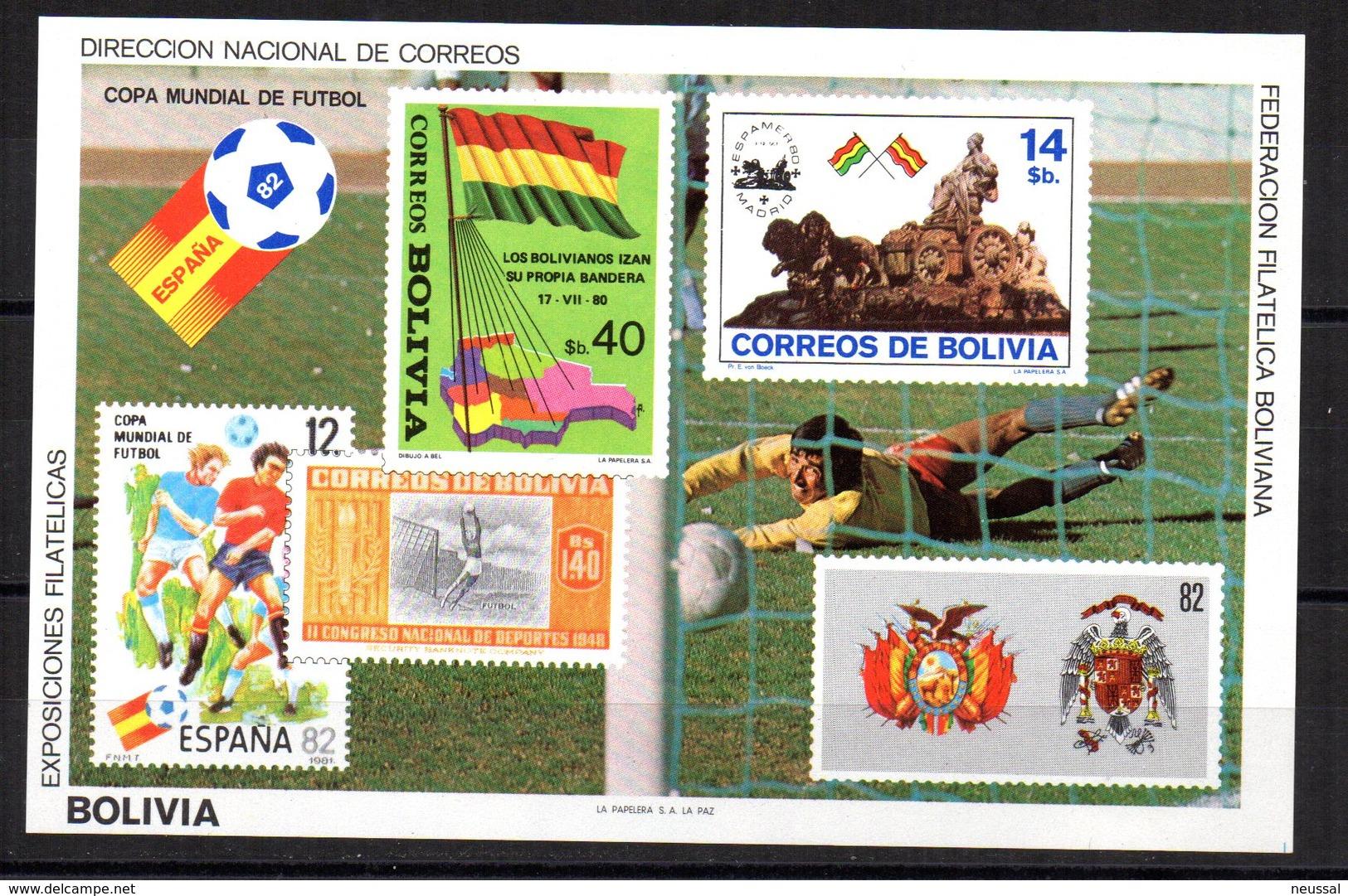 2 Hb De  Bolivia 1982 - Bolivia