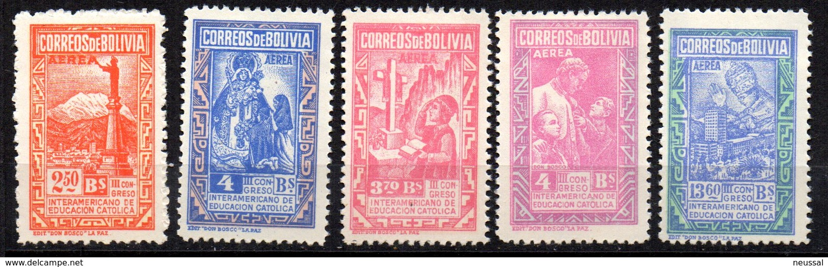 Serie Nº A-96/100  Bolivia - Bolivia