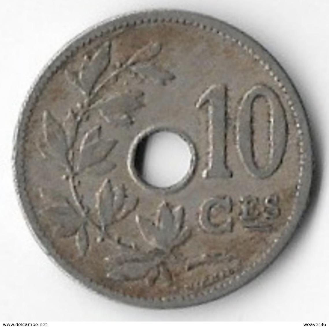 Belgium 1905 10c (French) [C001/1D] - 1865-1909: Leopold II