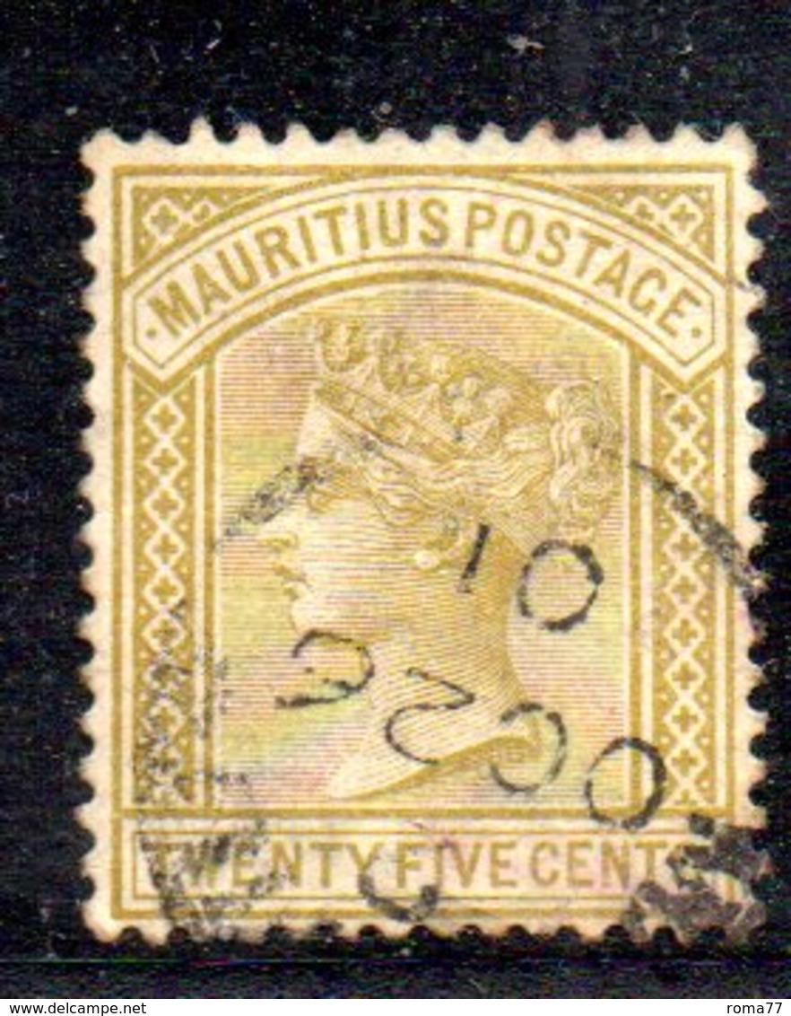 R1789 - MAURITIUS 1882 , Yvert N. 74 Usato CA - Mauritius (...-1967)