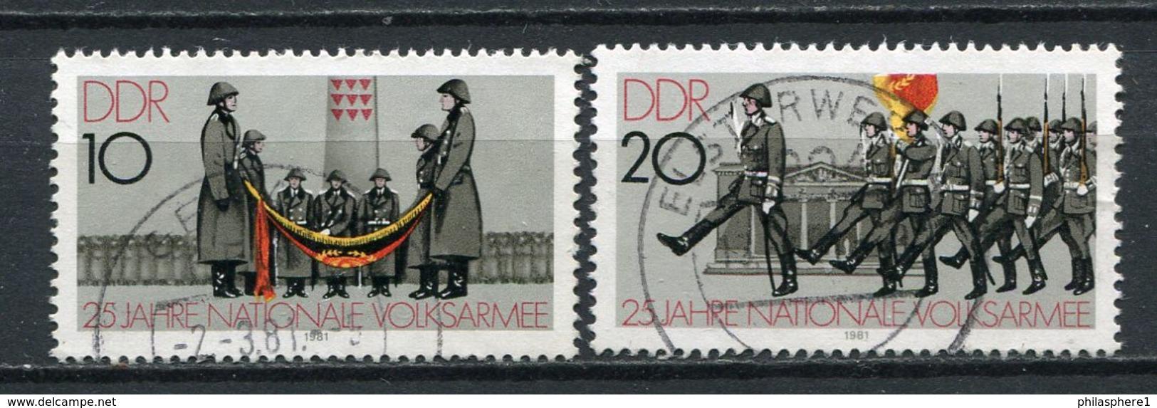 DDR Nr.2580/1          O  Used       (21824) ( Jahr: 1981 ) - Gebraucht