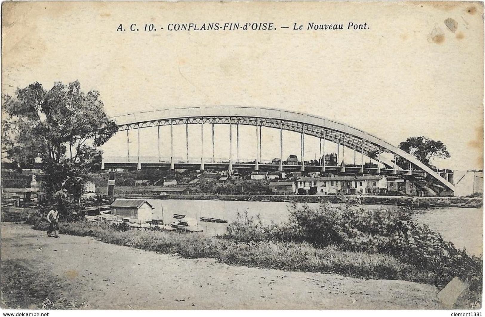 Conflans Saint Honorine Le Nouveau Pont - Conflans Saint Honorine