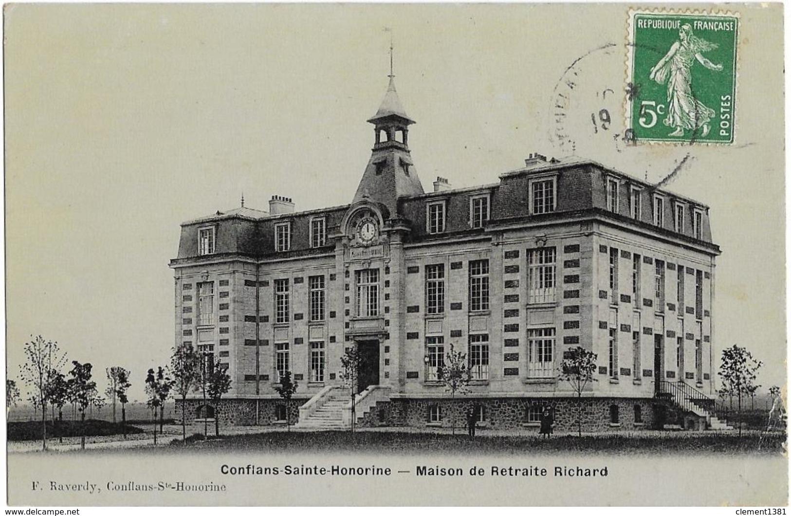 Conflans Saint Honorine Maison De Retraite Richard - Conflans Saint Honorine