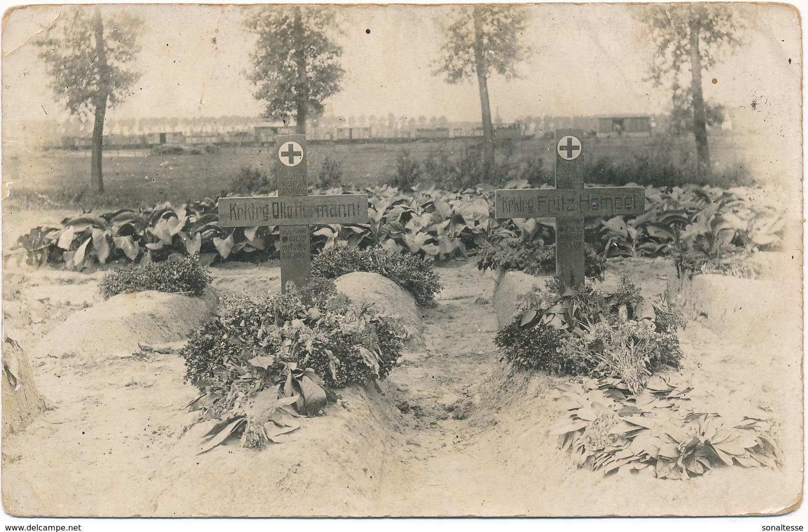 Ledegem / 1917 / Fotokaart - Ledegem