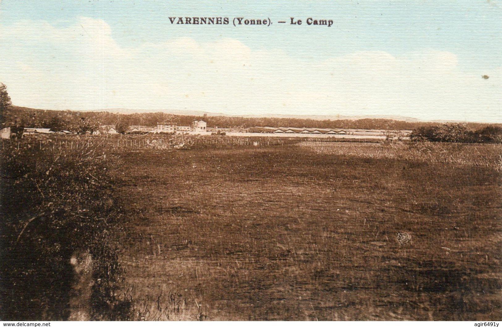 - VARENNES (89) - Le Camp Militaire  -20028- - France