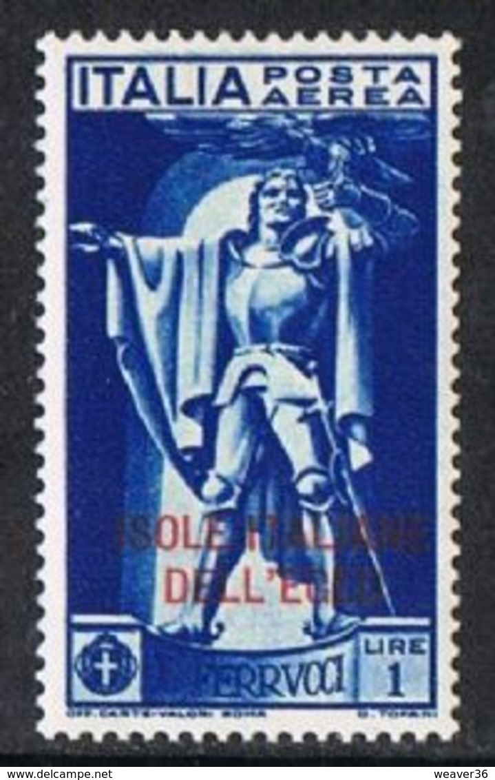 Dodecanese Islands SG41 1930 Ferrucci 1l Mounted Mint [9/10603/7D] - Dodecaneso