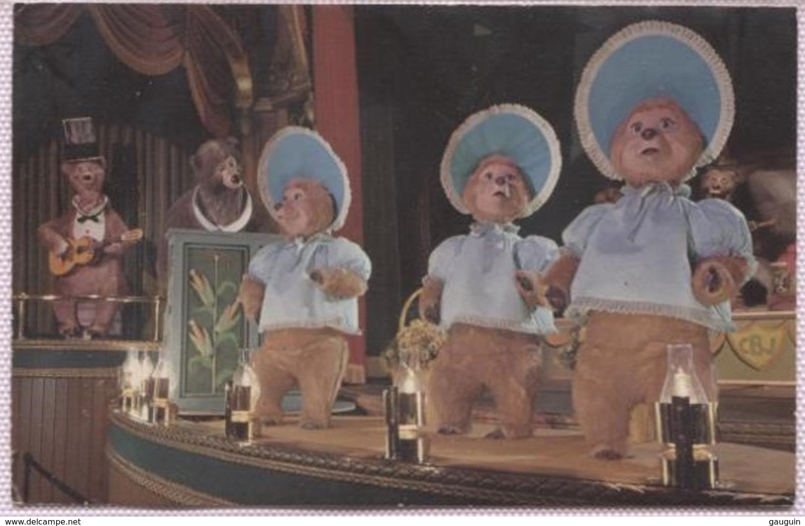 CPM - DISNEYLAND - THE SUN BONNETS - W.Disney Productions - Disneyland