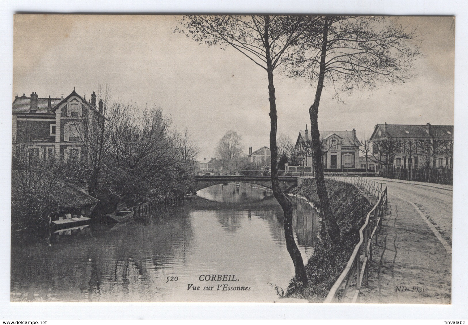 CORBEIL Vue Sur L'Essonnes - Corbeil Essonnes