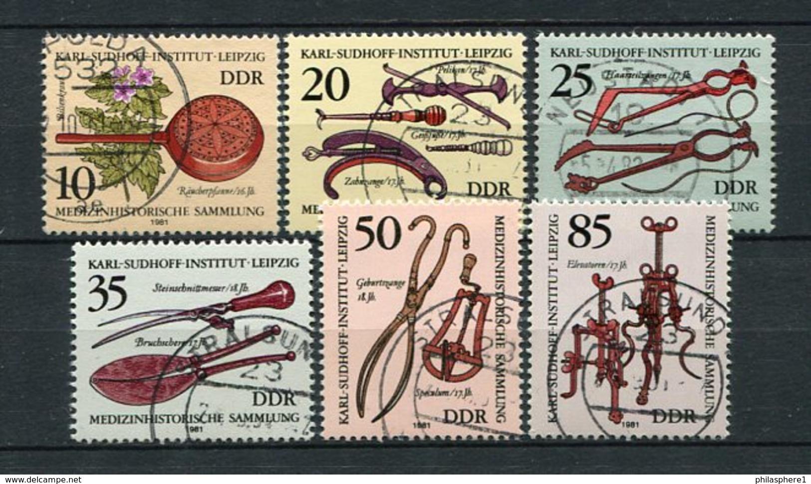 DDR Nr.2640/5          O  Used       (21847) ( Jahr: 1981 ) - DDR