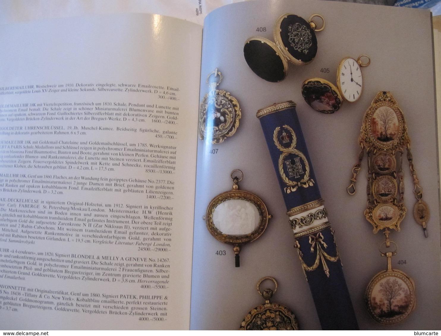 CATALOGUE DE VENTE MONTRES ET HORLOGERIE - INEICHEN ZÜRICH 17 MAI 1999 - Bijoux & Horlogerie