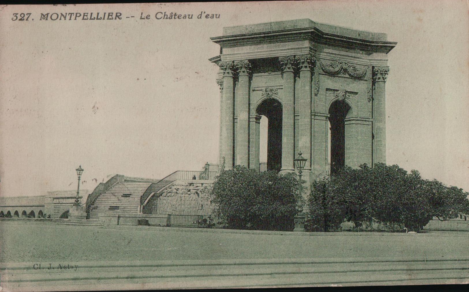 5490A MONTPELLIER  1921  ECRITE - Montpellier