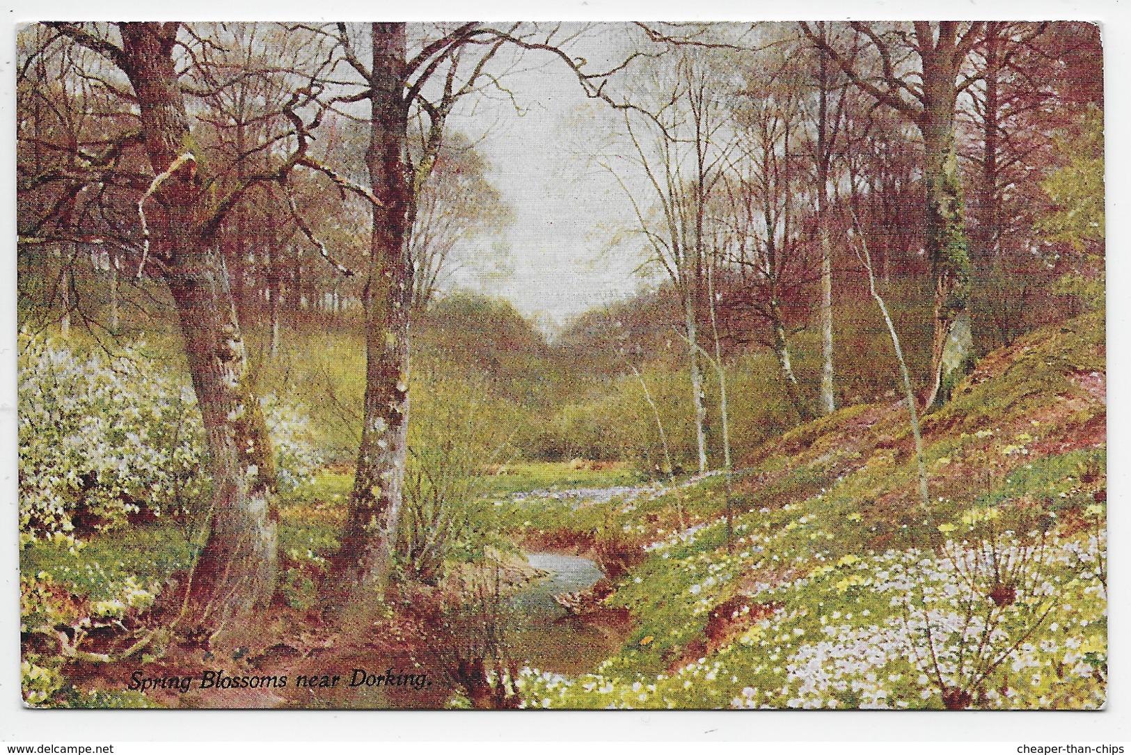 Spring Blossoms Near Dorking. - Sutton Palmer - Black Series 38 - Surrey