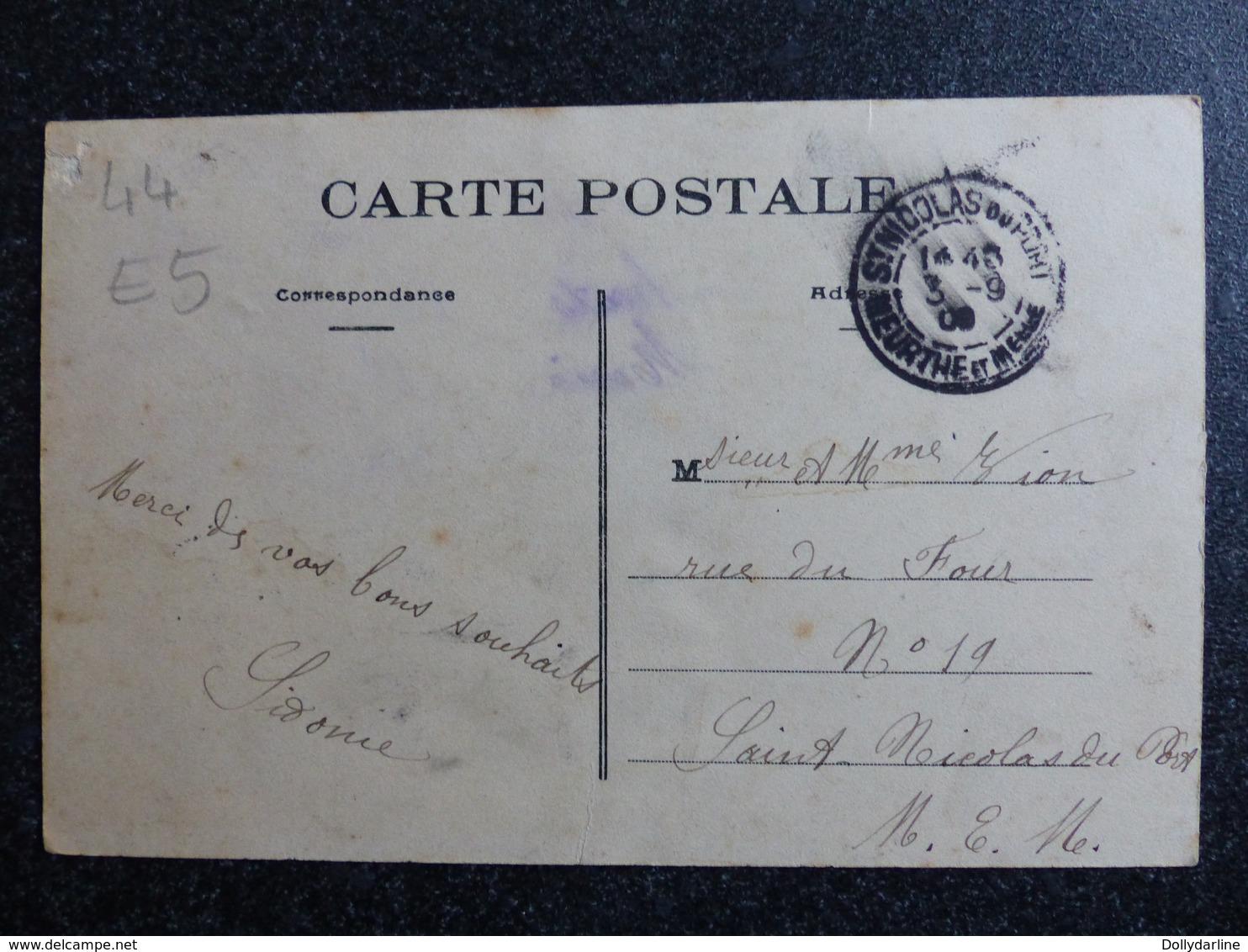 SAINTE LUCE Vue Générale Loire Inférieure Atlantique 44 Circulée 1909 Ecrite - Otros Municipios
