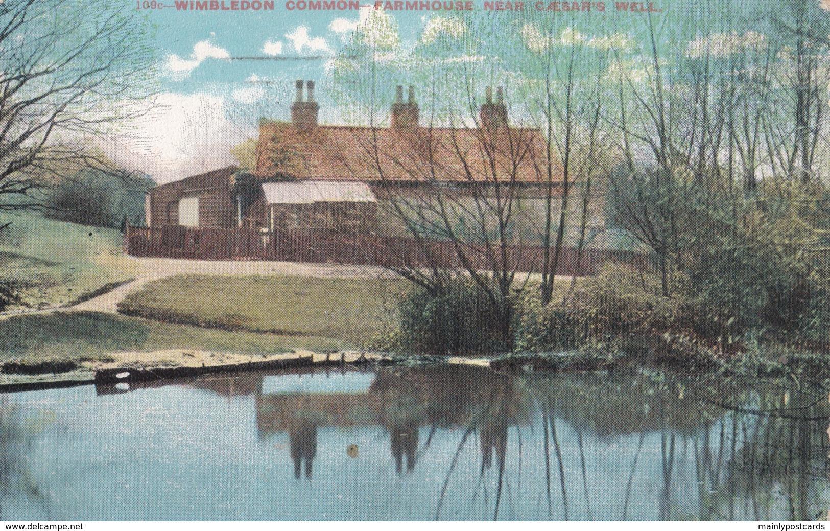 AQ05 Wimbledon Common, Farmhouse Near Caesar's Well - London Suburbs