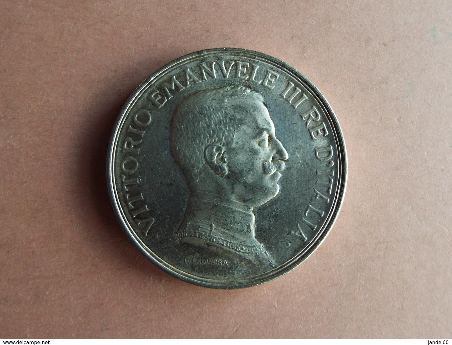 PIECE L. 5  VITTORIO EMMANUEL III1914 - …-1861 : Before Reunification