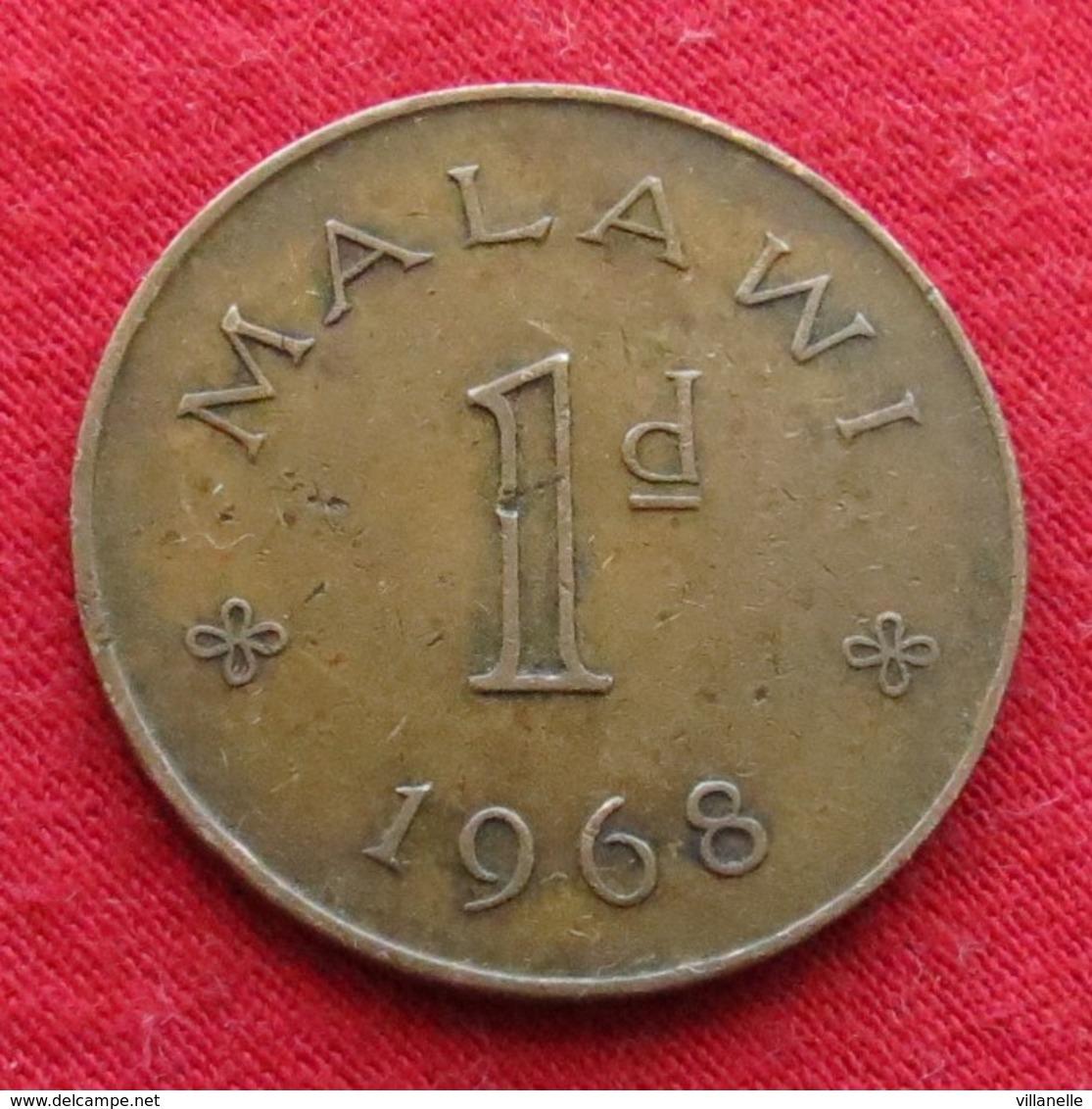 Malawi 1 Penny 1968 KM# 6 - Malawi