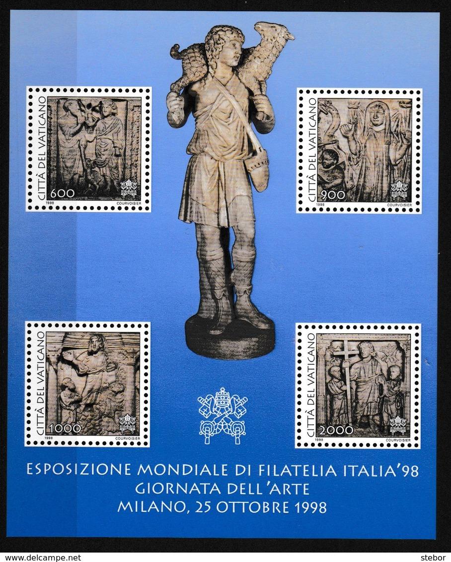 Vatikaan 1998 Blok Nr 18 **, Zeer Mooi Lot K916 - Sellos
