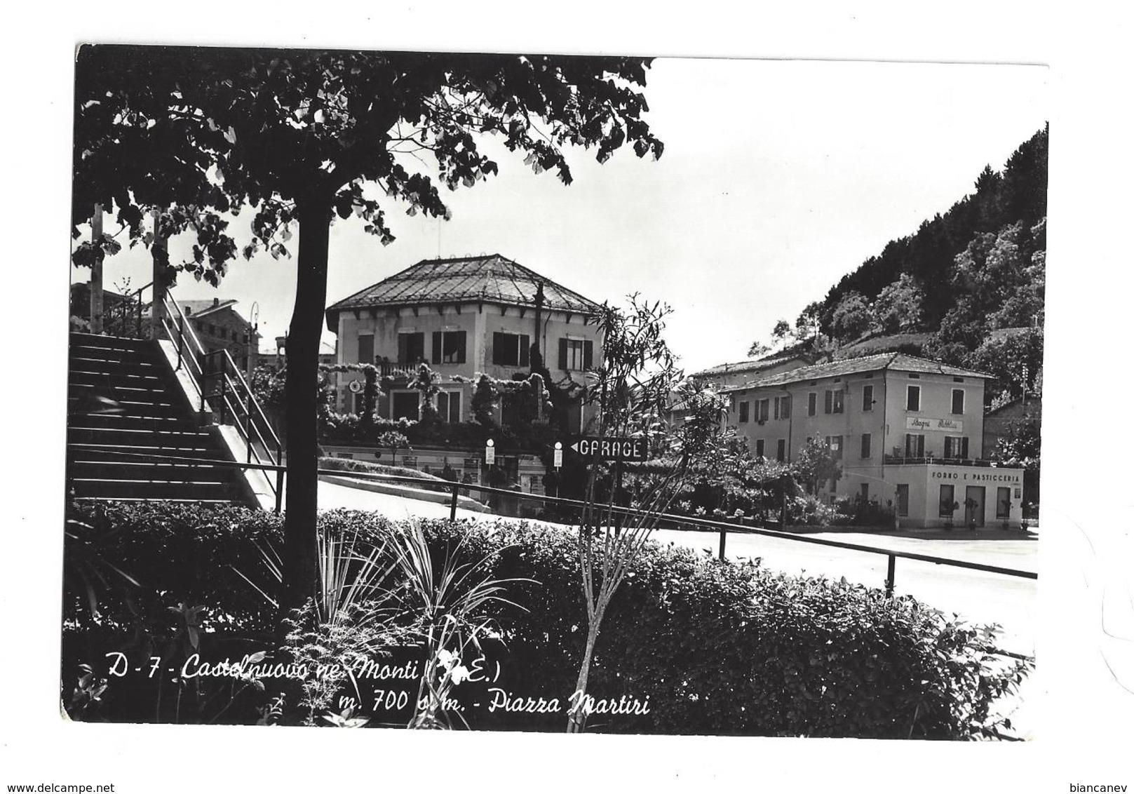 CARTOLINA DI CASTELNOVO NE' MONTI - REGGIO EMILIA - 2 - Reggio Emilia